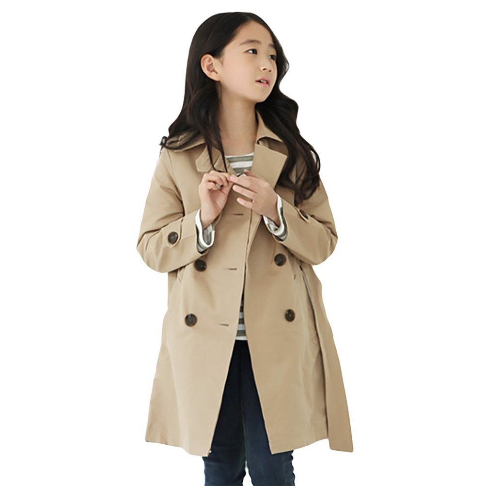 LNGRY Toddler Kids Baby Girls Warm Clothes Hooded Coat Jacket Cardigan Outwear