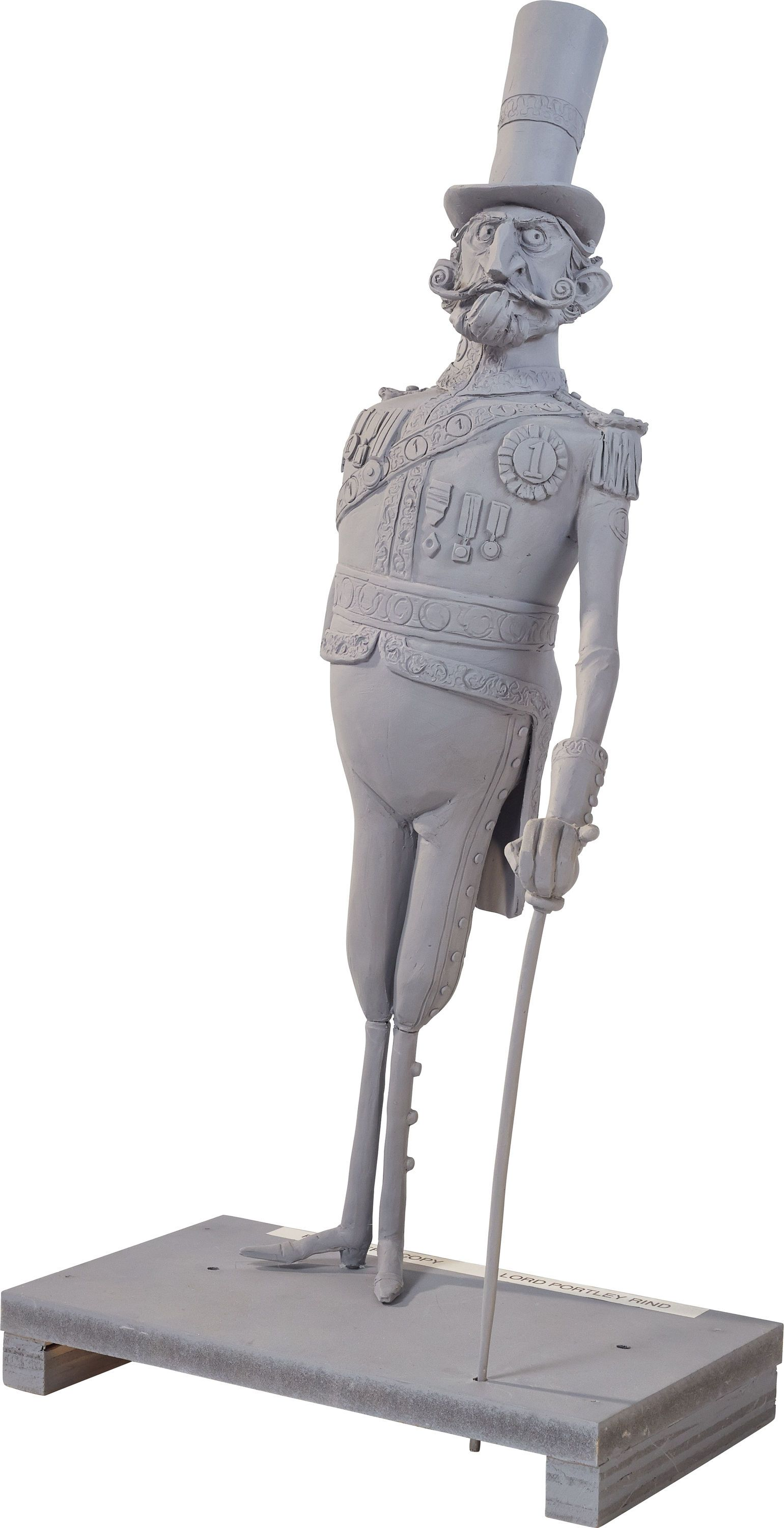 The Boxtrolls Lord Portley-Rind Maquette (LAIKA, 2014)....   Lot #94198   Heritage Auctions