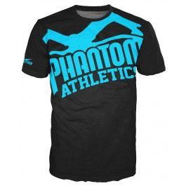 "Phantom Athletics Shirt ""EVO - Supporter 2.0"" - Black/Blue"