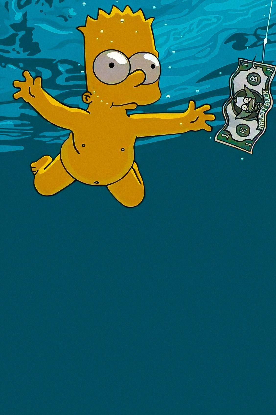 Bart Simpson In 2020 Simpson Wallpaper Iphone Hippie Wallpaper Tumblr Iphone Wallpaper