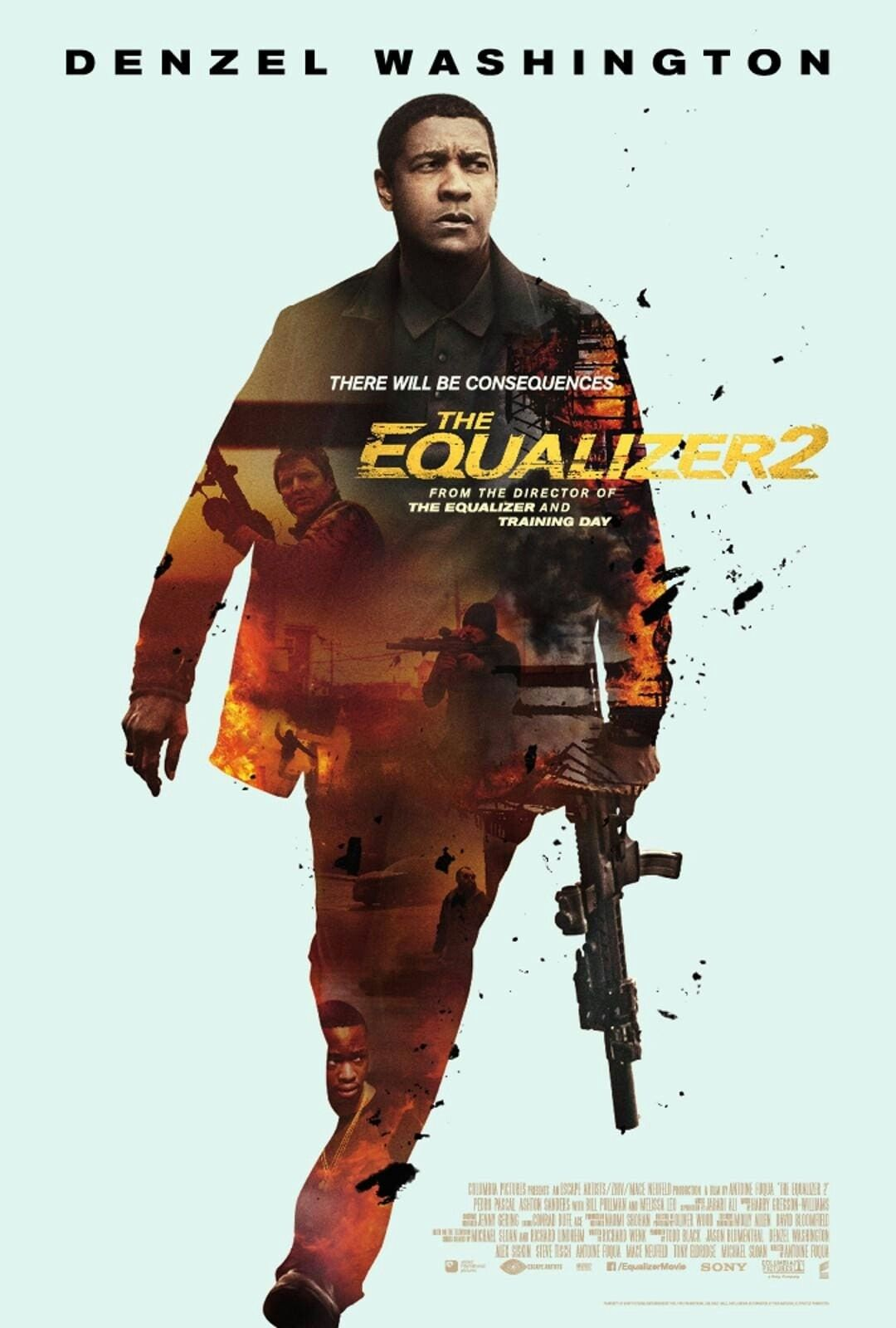 The Equaliser 2 movie poster Fantastic Movie posters