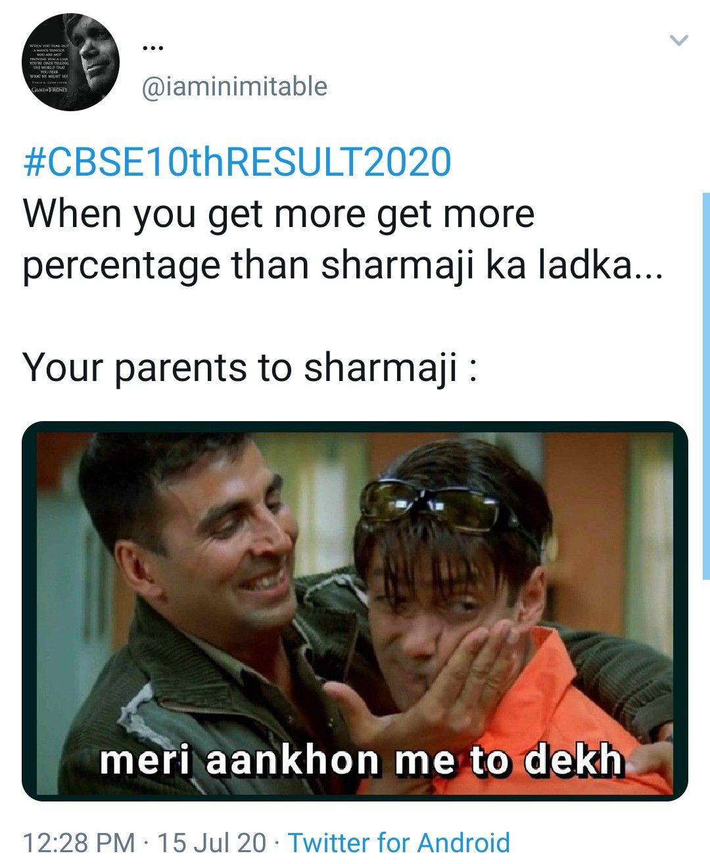 School Meme Cbse Result Meme Class 10th Funny Memes Funny Indian Memes Hindi Memes In 2020 Funny Mom Jokes Funny Instagram Memes Very Funny Memes