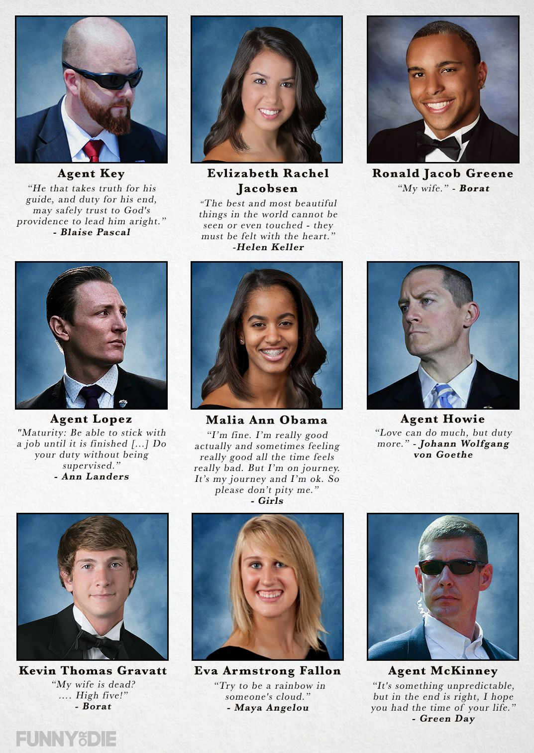 Funny Or Die Funny Yearbook Yearbook Photos Yearbook Quotes