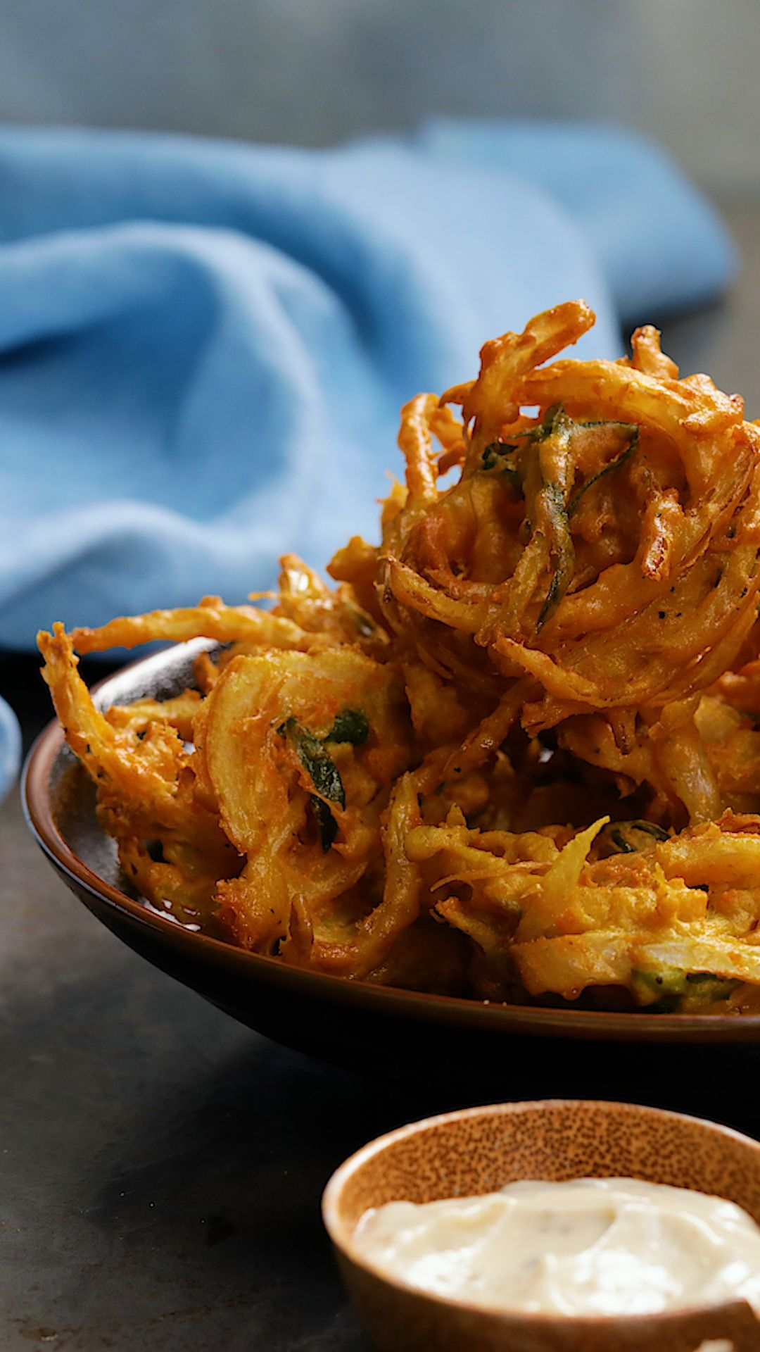 Cheese and Onion Bhaji