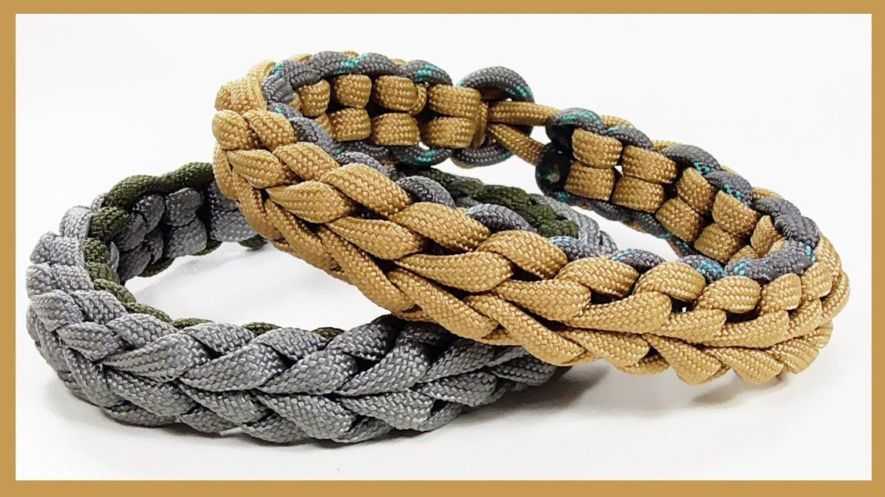 Paracord Bracelet Endearment Bar Bracelet Design Without Buckle