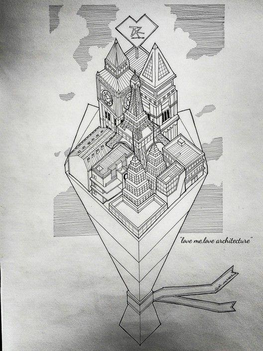 105 postales de San Valentín para arquitectos (y amantes de la arquitectura),mohamad Aliff Farhan bin Rosli