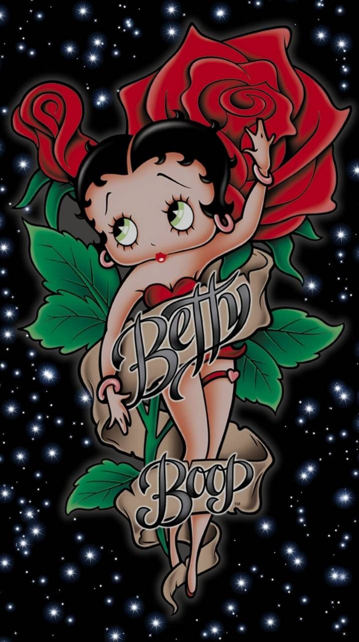 Download Betty Boop Rose Wallpaper By Glendalizz69 C1 Free On Zedge Now Browse Millions Of Popular Betty Boop Tattoos Betty Boop Art Betty Boop Pictures