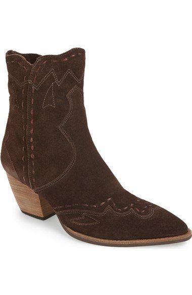 Matisse Parker Western Block Heel Bootie Women Available At Nordstrom