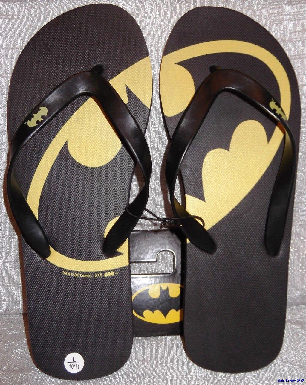 DC Comics The Joker Slide Sandals
