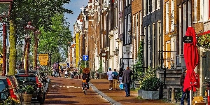 Jordaan District, Amsterdam, Holland, Netherlands