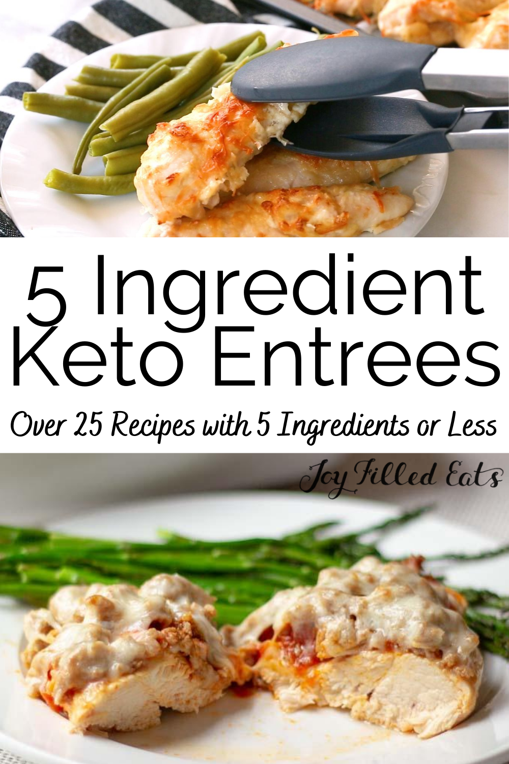 Easy Keto Meals 5 Ingredients Or Less Over 25 Entree Recipes Dinner Recipes Healthy Low Carb Recipes Keto Recipes