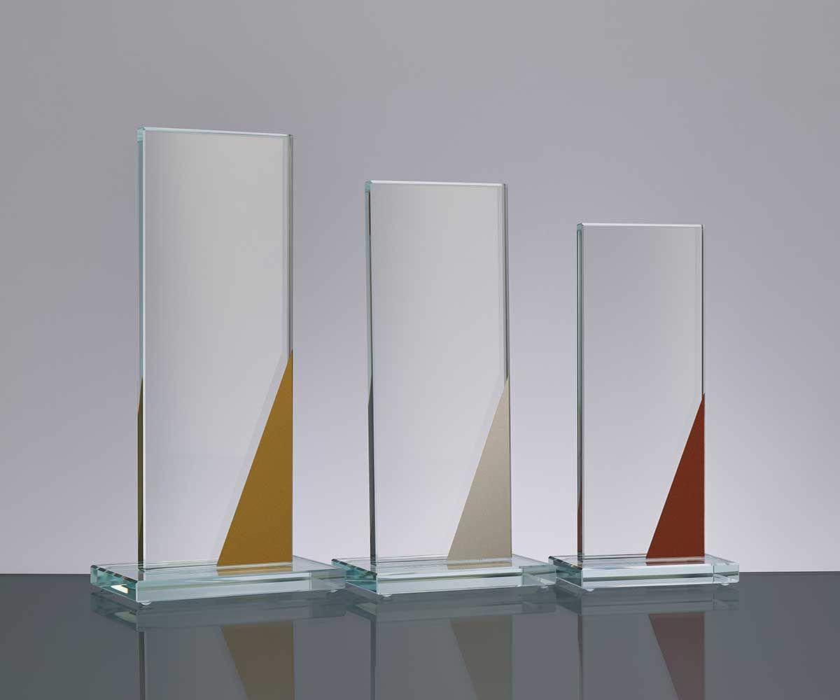 Flachglas Trophae Mit Siegerfarben Dekor In 2020 Dekor Glas Dekorieren