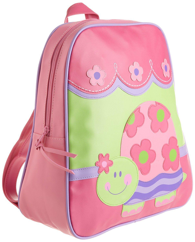 Stephen Joseph Little Girls' Go Go Bag, Turtle,