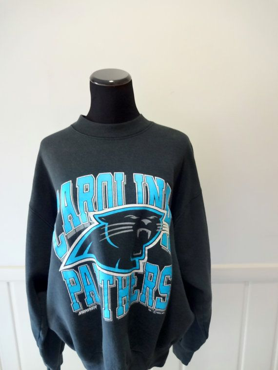 Vintage Carolina Panthers Sweatshirt 1993 by WylieOwlVintage 83228acff