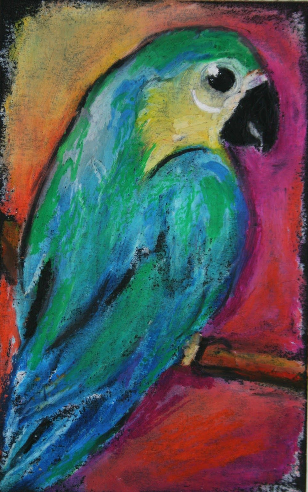 32 Awesome Easy Oil Pastels Drawings Images Oil Pastels