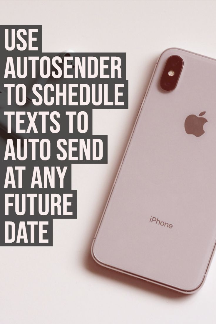 The best iOS app for scheduling text messages that will
