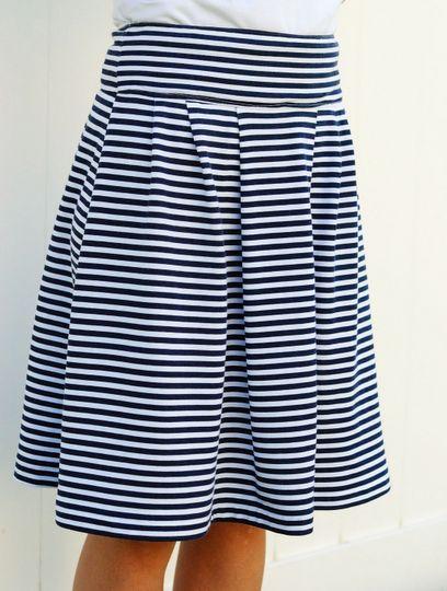 Sommerröcke leicht zu nähen | Nähen | Sewing, Skirt patterns sewing ...
