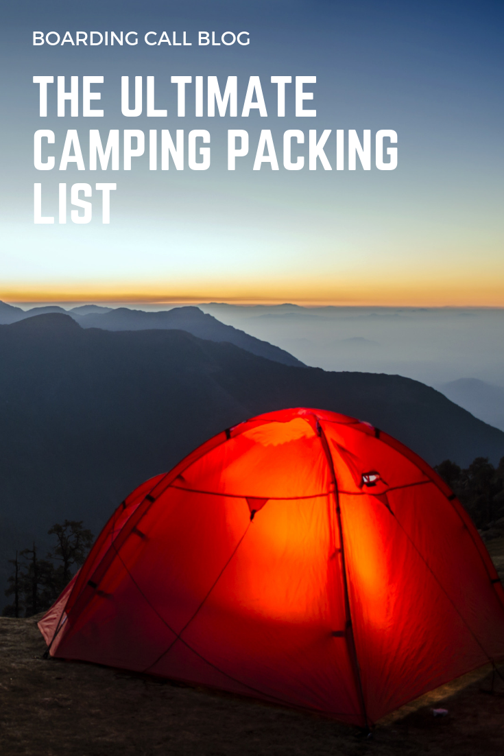 Photo of The Ultimate Camping Gear List: What to Bring Camping · Boarding Call