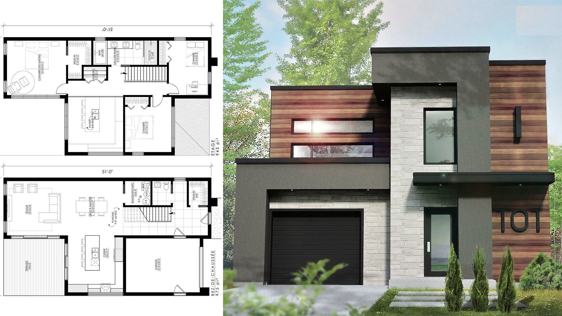 Boutique Homes 29x51 with 3 Bedrooms | Boutique homes, Modern ...
