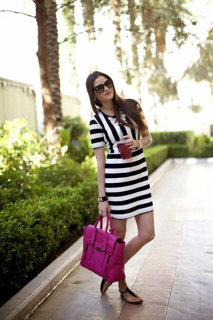 Look Fucsia Fucsia Bolso Rosa 2019 Y Moda Vestidos En xn7znp