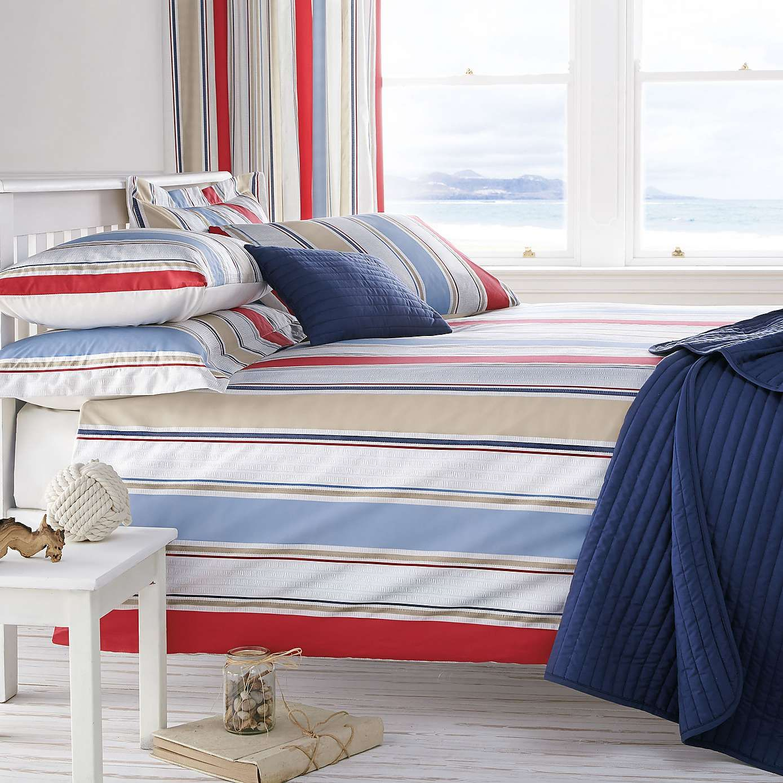 Blue Nautica Stripe Duvet Cover Set Dunelm