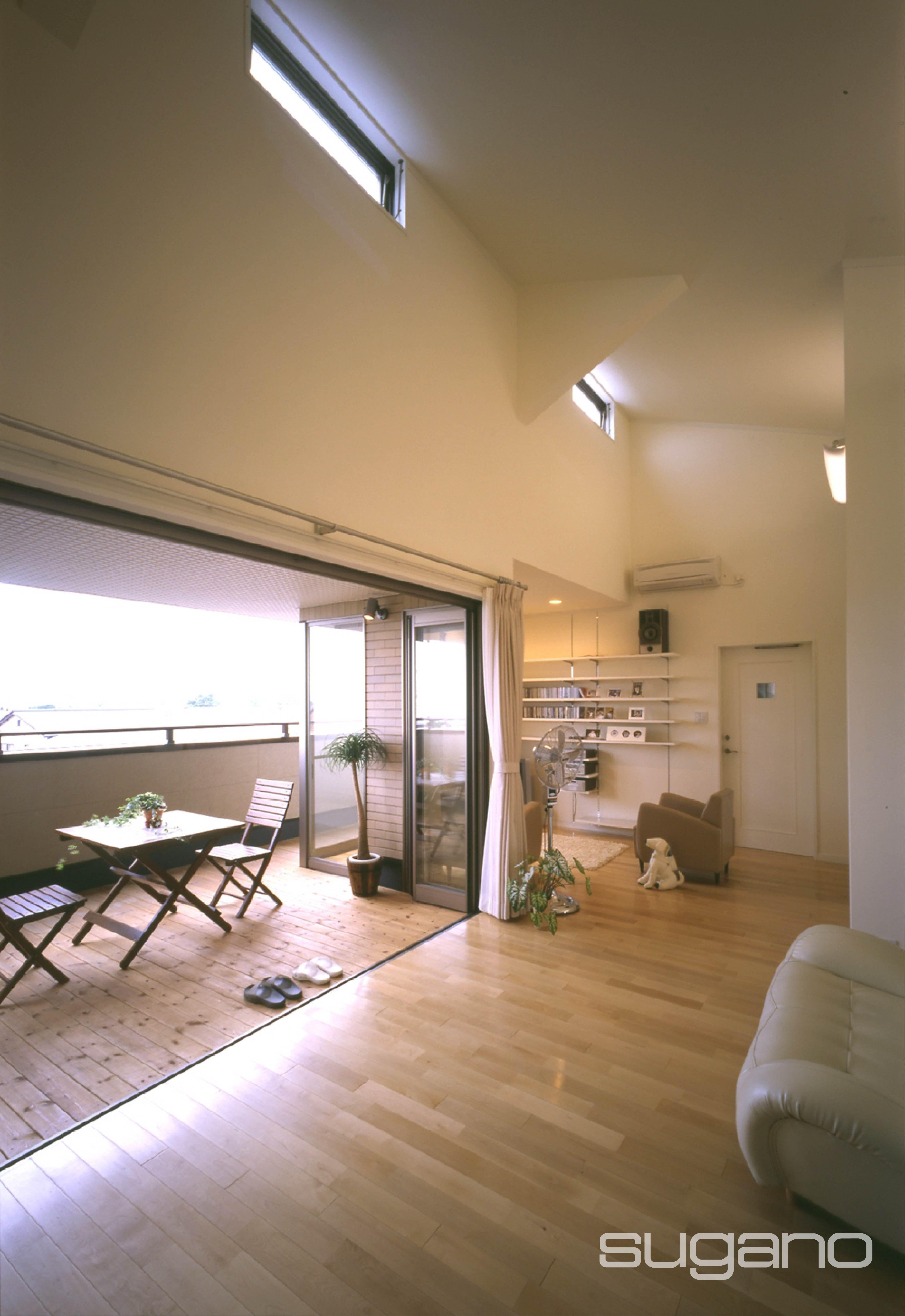 外部と繋がるldk 新築 住宅 Ldk リビング テラス 家づくり