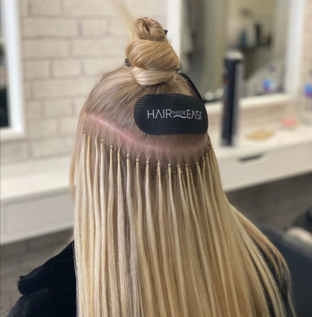 Easigrips when fitting in 2020 hair extension tools