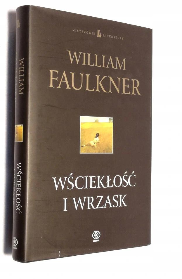 Wscieklosc I Wrzask William Faulkner 8100919716 Oficjalne Archiwum Allegro Book Art William Faulkner Book Cover