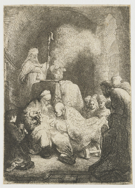Circumcision Rembrandt Harmensz. Van Rijn 1628