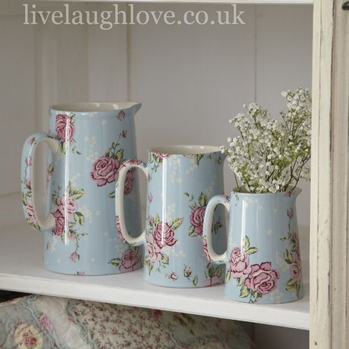 Country kitchen style jugs