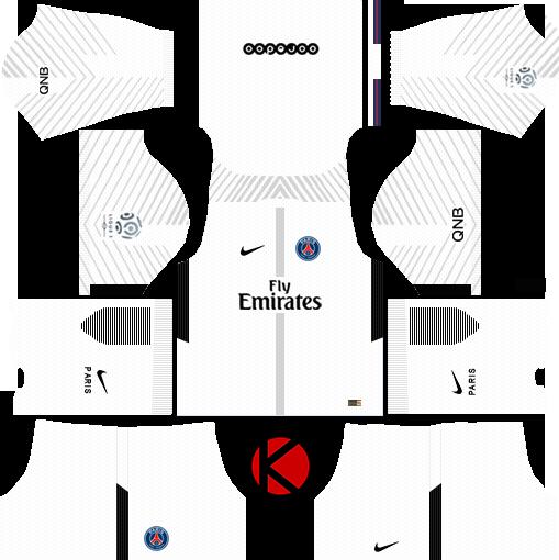 dream league soccer PSG kits with logo and url | Футбол | Psg