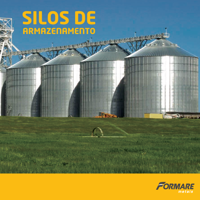 Você sabia que é possível fazer um silo de armazenamento com nossas telhas metálicas? ;) Silos são ideias para estocar materiais em propriedades rurais e podem ser de diversos tamanhos, de acordo com as necessidades do seu projeto 👍 #FormareMetais #Rural #Obras #Silo #Armazenamento #Grãos #Fechamento #Aço #Metal #Plantação #Brasil