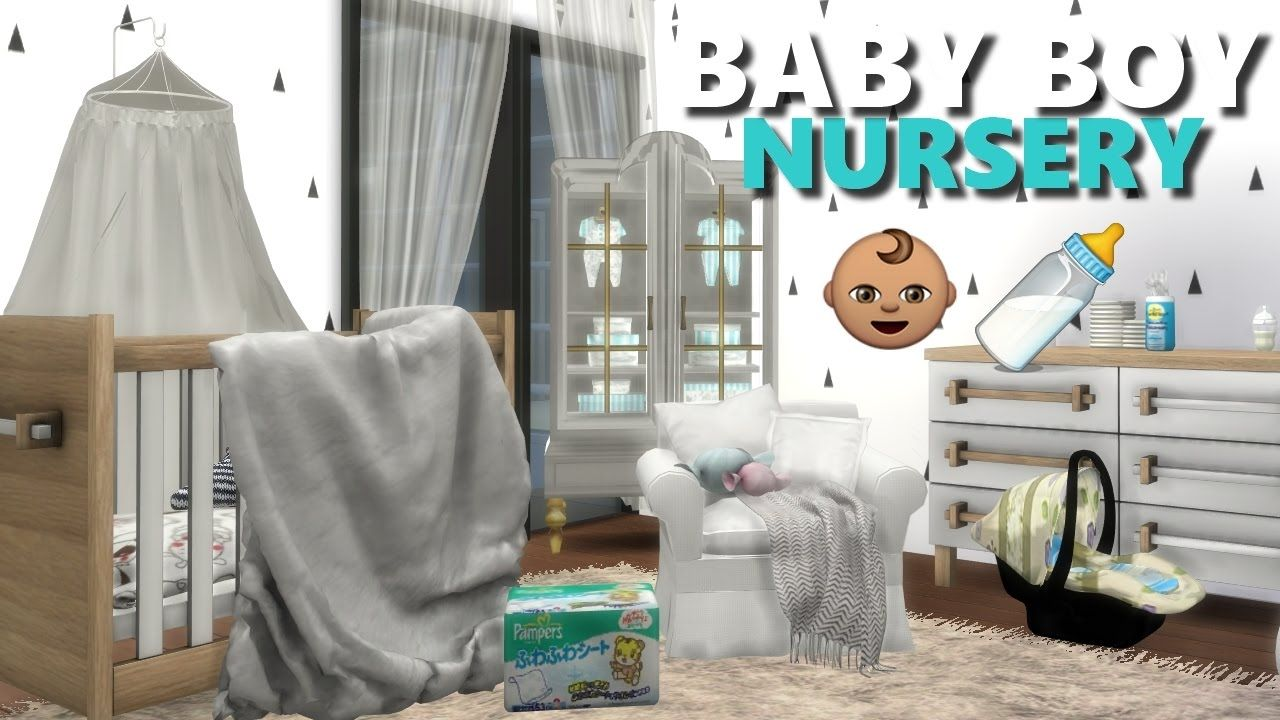 Baby Bedroom In A Box Special: THE SIMS 4 L NURSERY ROOM FINDS + CC LIST (CRIB,DIAPERS