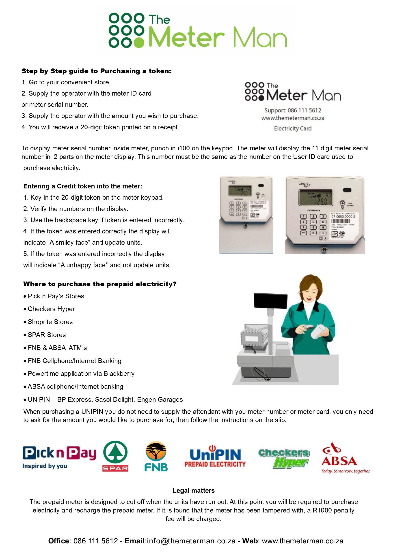 Consumer Electricity Leaflet Leaflet Electricity Step Guide
