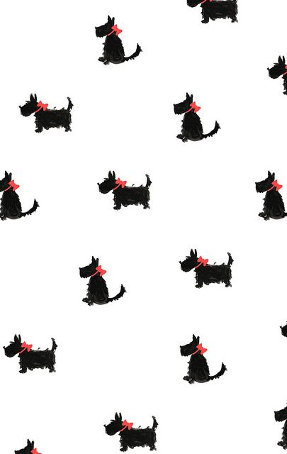 White Black Scottie Dog Red Bow Phone Iphone Wallpaper Background Lock Screen With Images Pattern Wallpaper Cute Wallpapers Pattern Art
