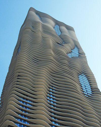 The Aqua Building Chicago Astounding Architecture Pinterest