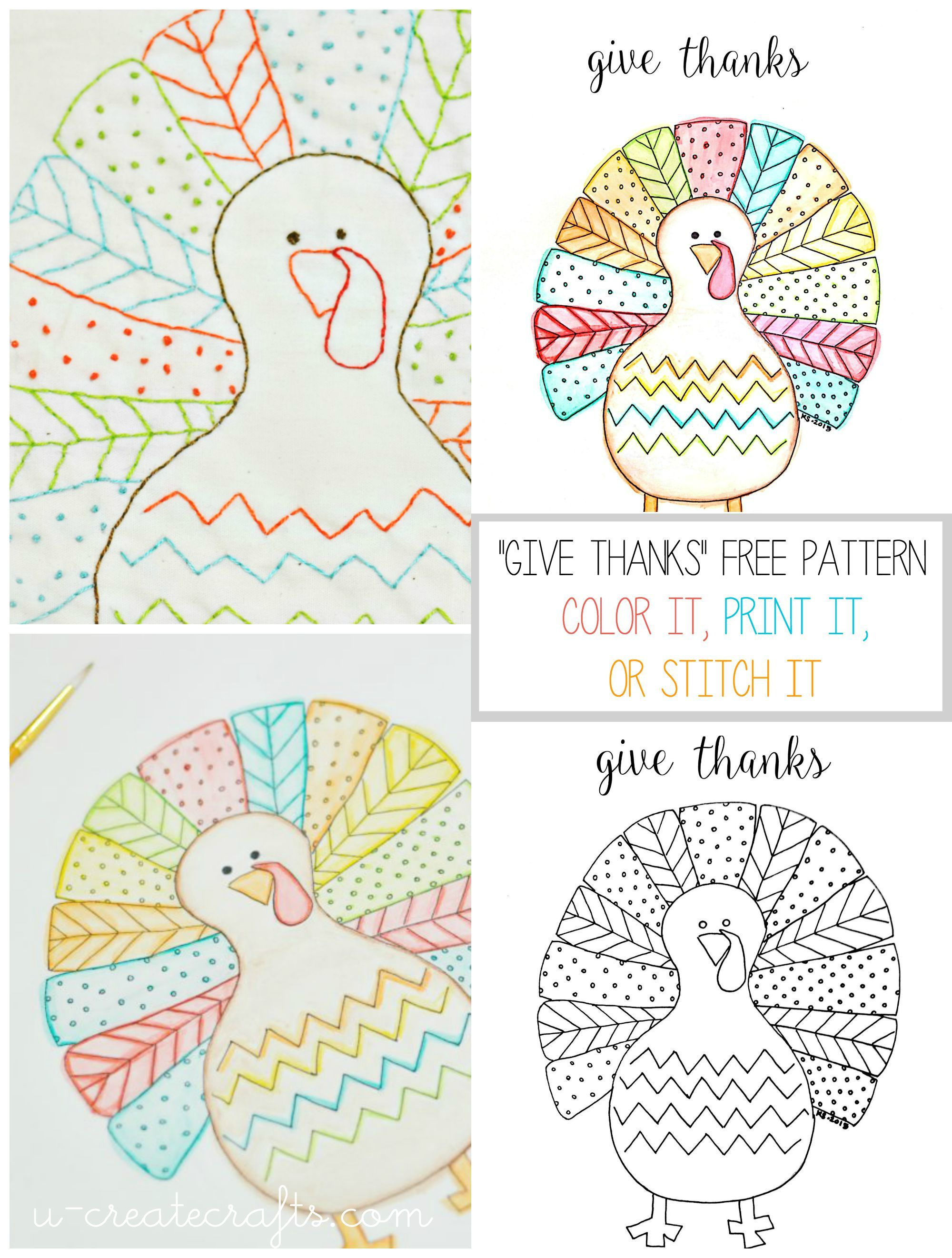 Fall Turkey Printable | Thanksgiving, Dinners and Turkey pattern