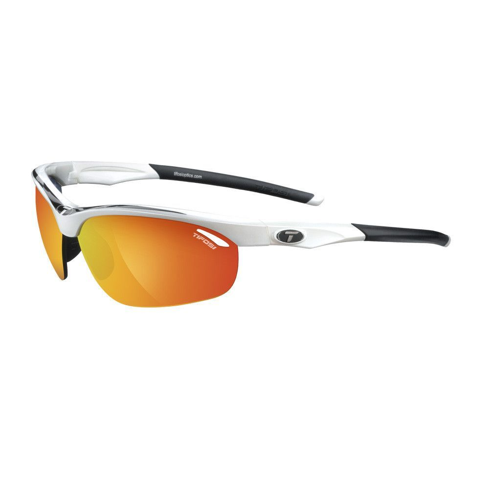 Tifosi Veloce Interchangeable Lens Sunglasses - White/Black