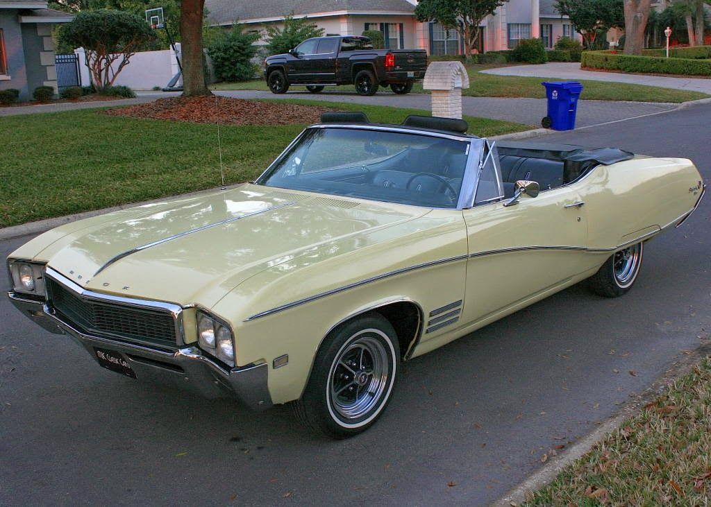 1968 Buick Skylark Custom 2 Door Convertible Buick Cars Classic Cars Buick