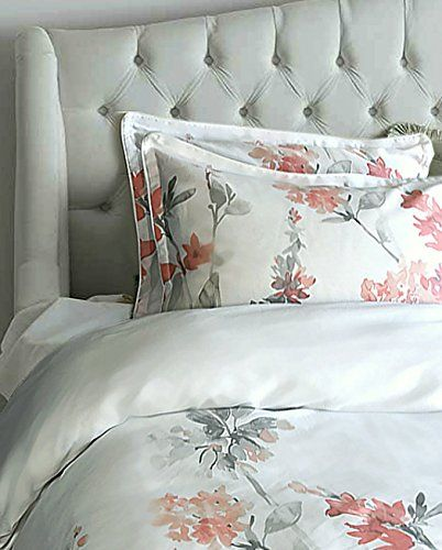 We Love Our Watercolor Blossom Duvet Covers And Shams Because They Re Pretty But Tailored Enoug Duvet Cover Master Bedroom Pretty Duvet Covers Pink Duvet Cover