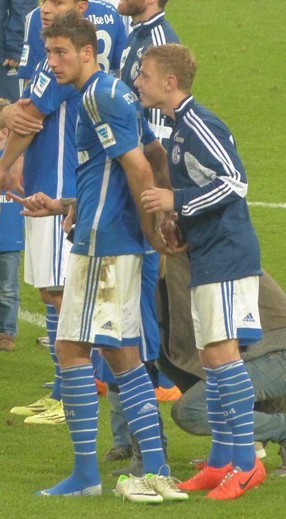 Max Meyer Leon Goretzka Schalke Pinterest