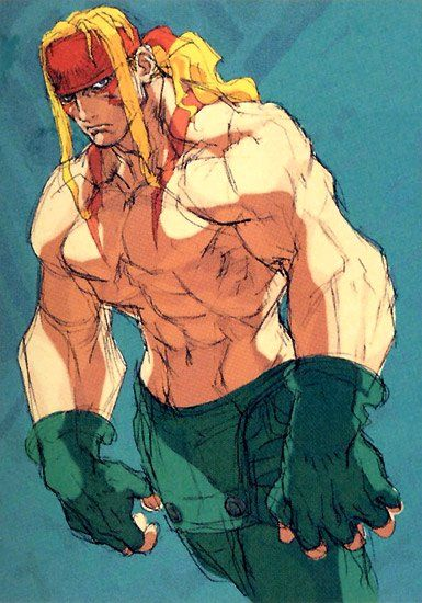 Street_Fighter_III_Art_Alex_2.jpg (385×550)