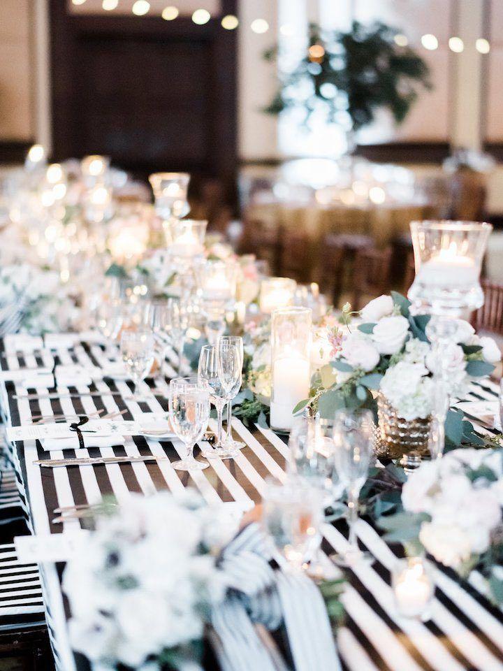 Photo: Ether and Smith Photography; wedding reception centerpiece idea