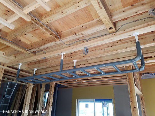 天井取付 雲梯 うんてい 家庭用 トレーニング オーダー 雲梯