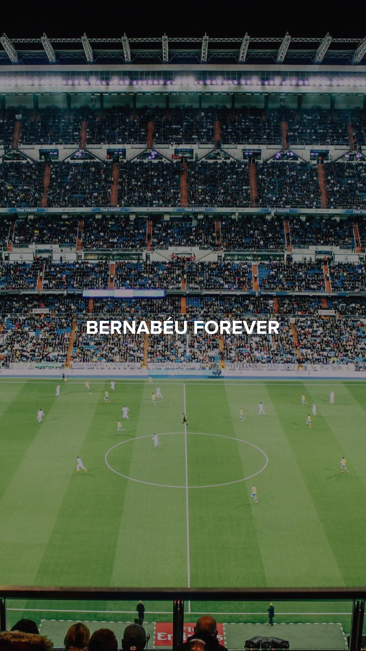 Bernabeu Forever Real Madrid Wallpapers Real Madrid Football Madrid Wallpaper