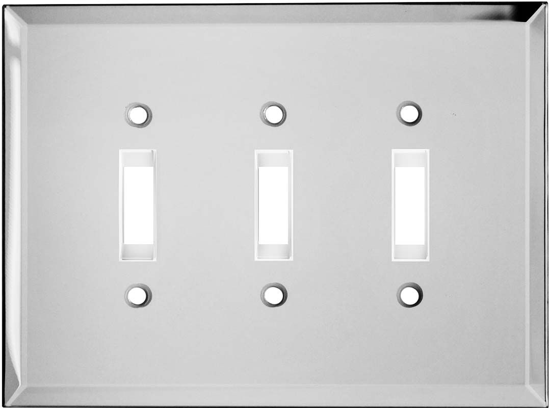 Light Switch And Outlet Covers Glass Mirror Light Switch Plates Outlet Covers Wallplates  Home