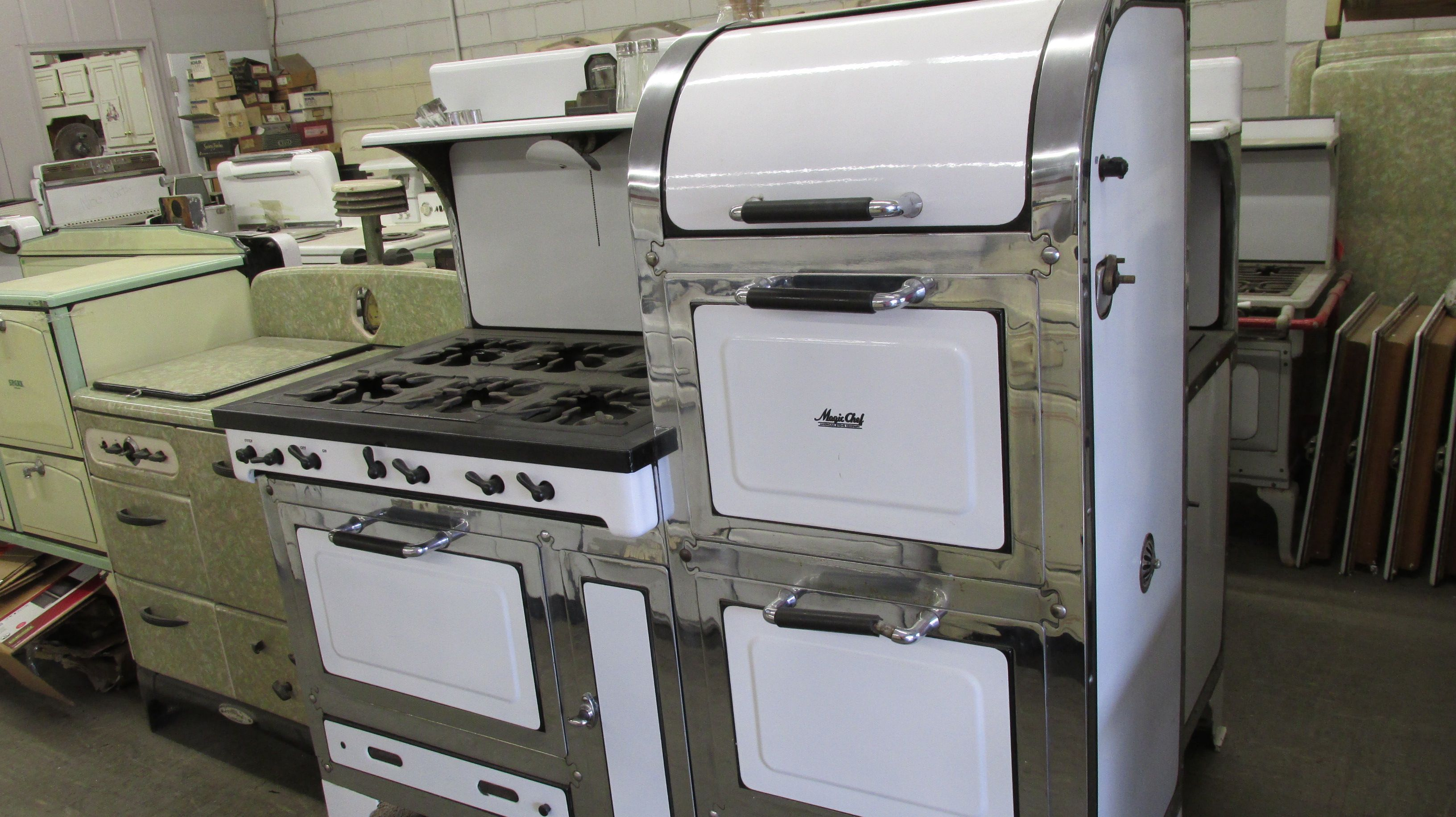 Our inventory of Unrestored Antique Stoves always changes. We keep a wide…