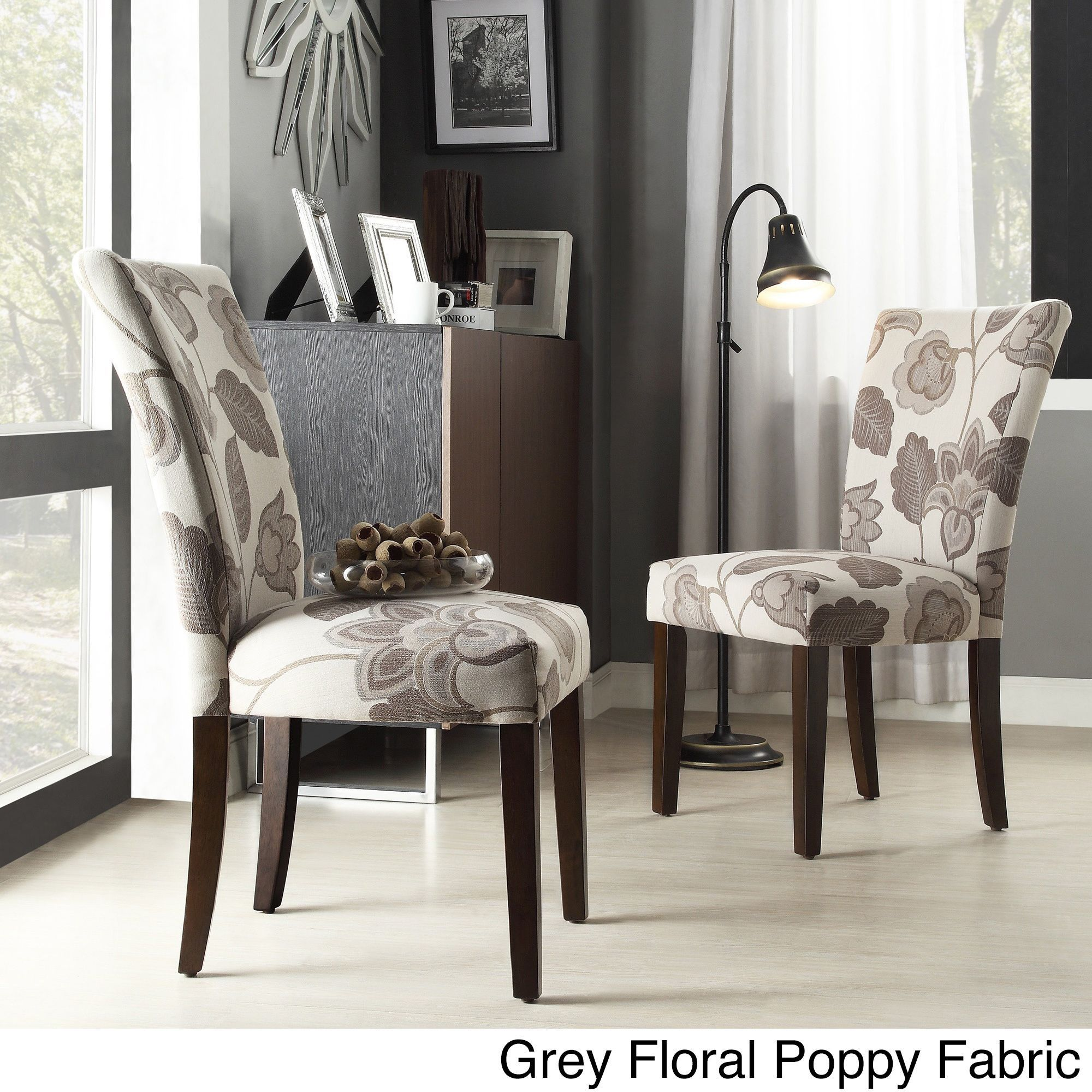 Catherine Print Parsons Dining Side Chair (Set of 2) by iNSPIRE Q Bold by  iNSPIRE Q