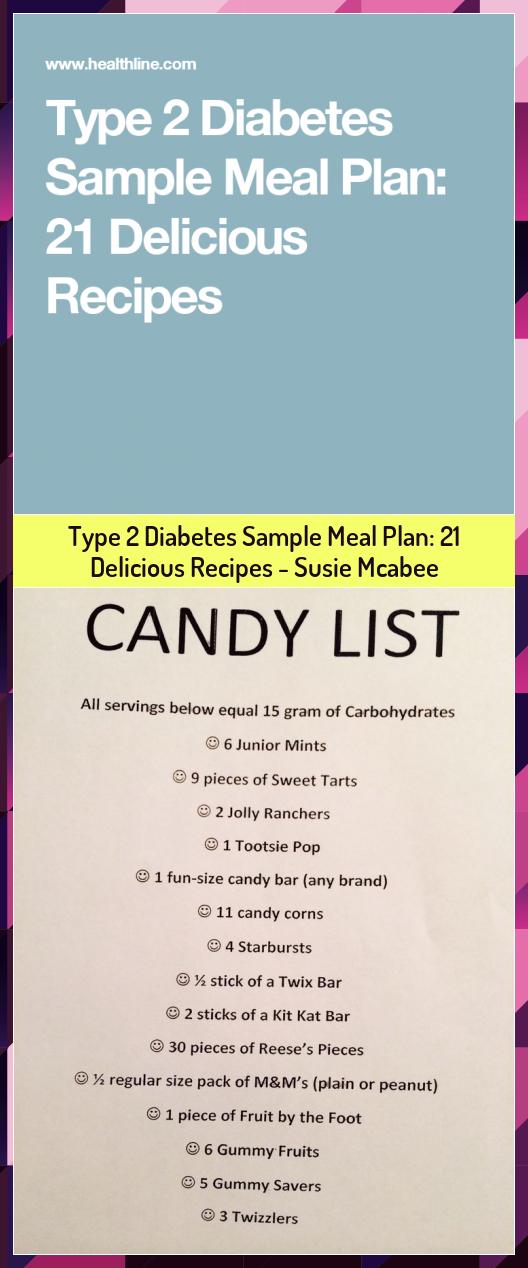 Type 2 Diabetes Sample Meal Plan 21 Delicious Recipes  Susie Mcabee