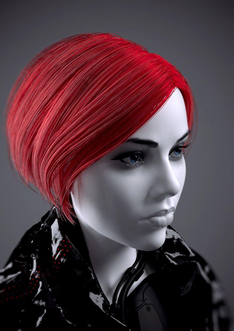 redhead by Eugene Fokin on ArtStation.